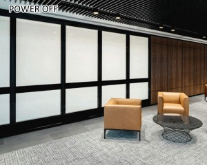 0.5mm thickness smart film switchable for office building