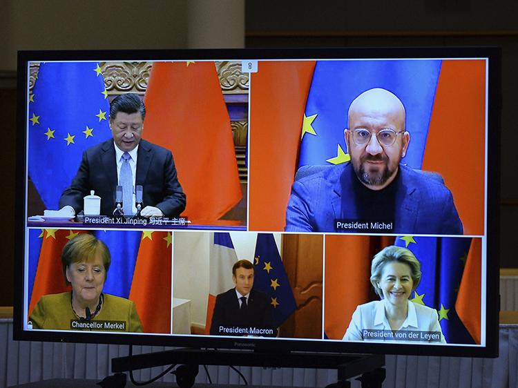 Belgium EU China