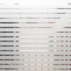 patterned static removable window film