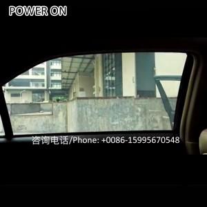 auto windscreen self stick electric glass foil
