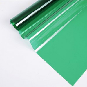 green decorative window film