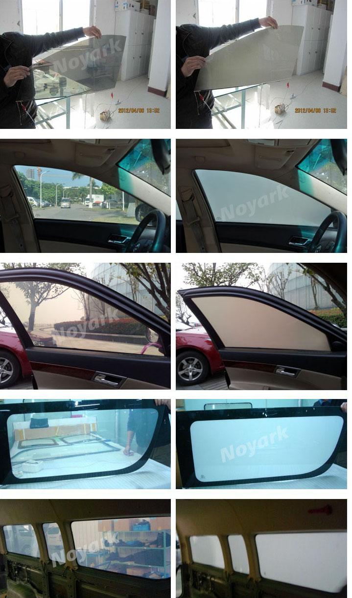 car window smart tint film