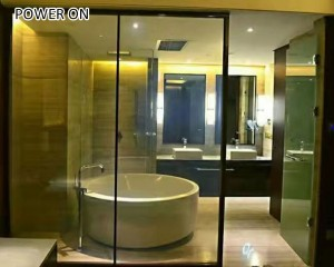 PriceList for Switchable Glass Pdlc Film - changeable pdlc privacy film for bathroom – Noyark