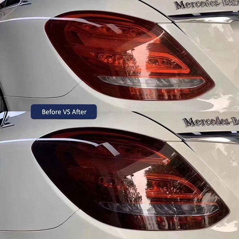 clear headlight protective film