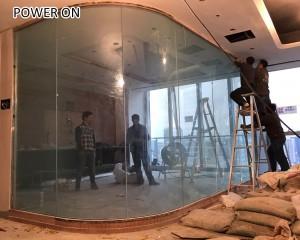 clear view schaltbare folie window film electron