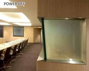 customized intelligent electric onoff smart glass film