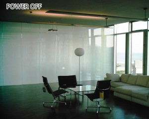 customized on-off type pdlc switchable smart glass film