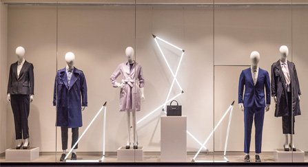 Noyark Electric Switchable Glass For Clothing Store