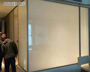 electric control tint smart film for office wall