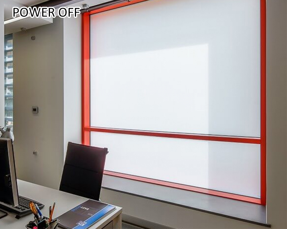 electric tint film for doors and windows