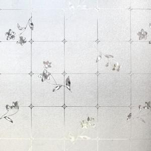 printed electrostatic window film
