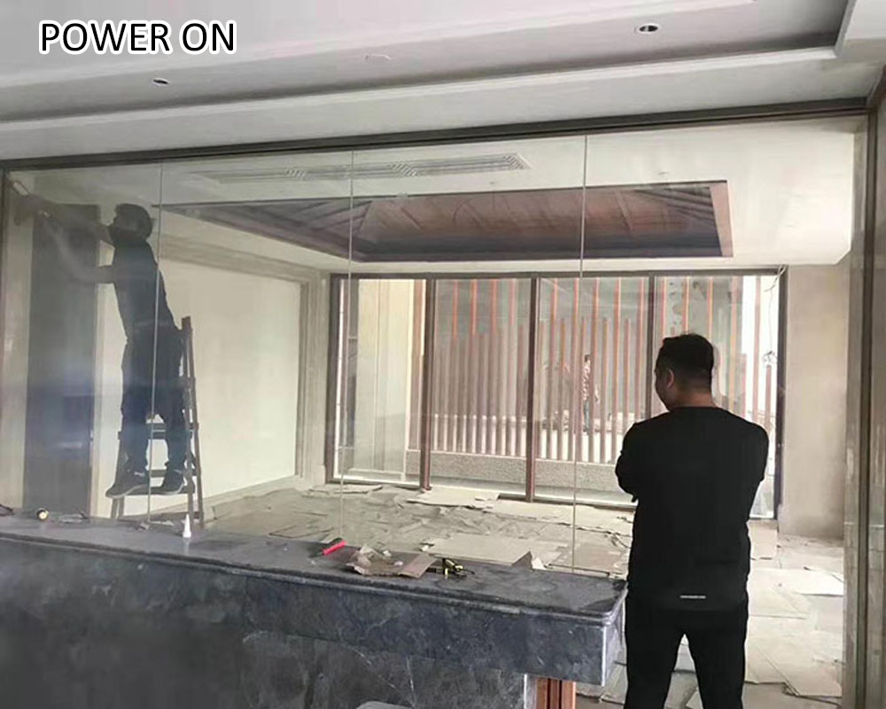 good price electric switchable glass
