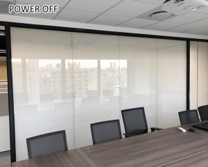 high clarity switchable smart film for conference room