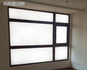 low haze switchable smart film for smart home