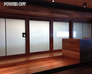 low power consumption electrochromic smart window pdlc film