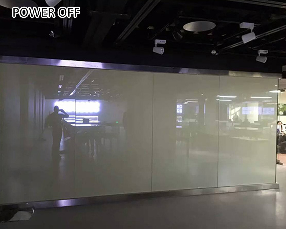 low voltage pdlc material electric glass film