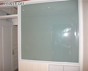 manual changeable low voltage electrochromic film dimmable