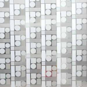 3d frosted film with kinds of patterns
