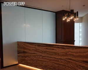 privacy control switchable smart glass film