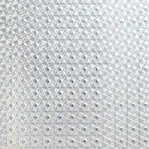 removable decorating film static