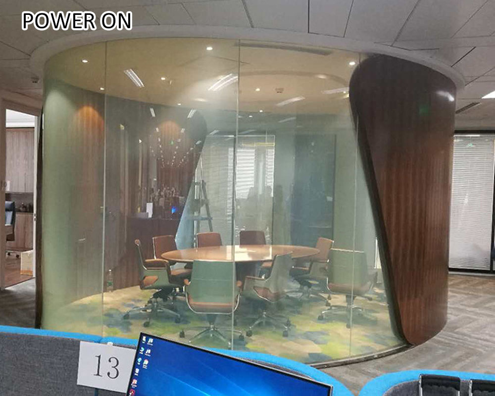 self-adhesive PDLC film for building glass