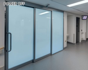 self-adhesive smart film attach to existing glass