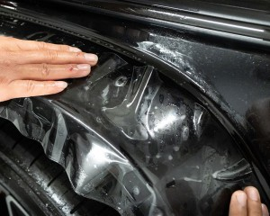 fast recovery invisible paint protection film