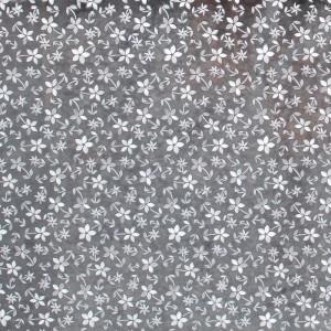 glass shower door decorative film