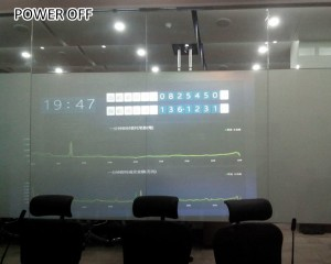 smart film interact for video display