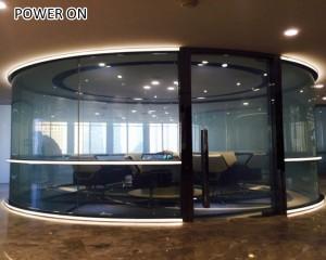 solar heat insulated smart glass film window