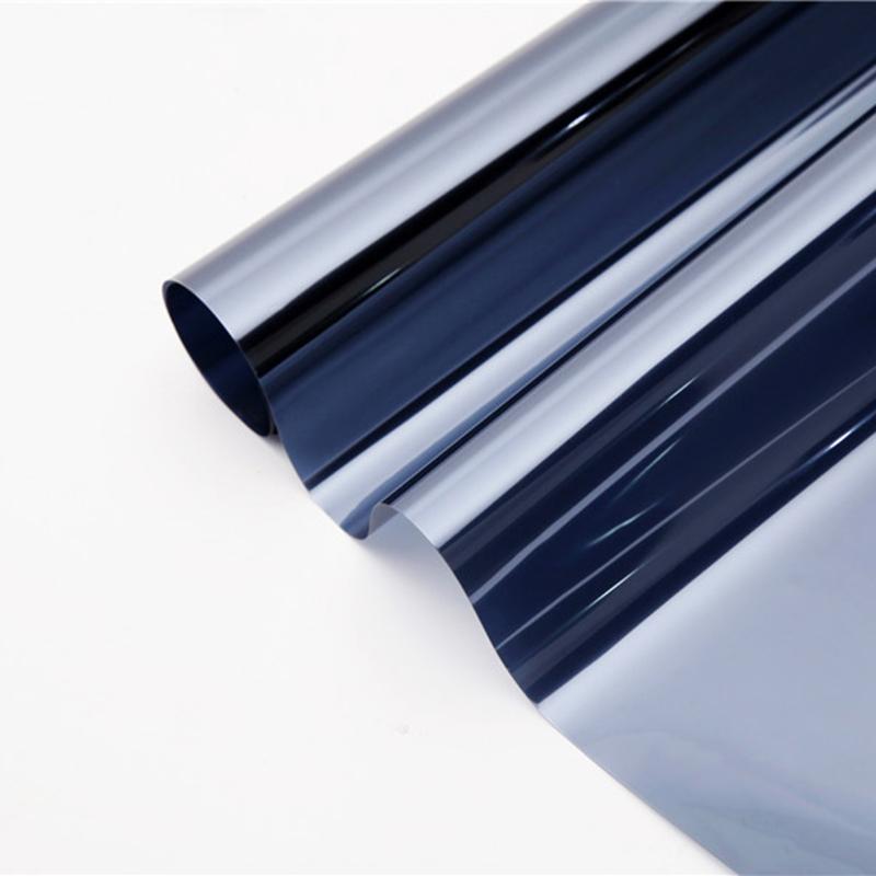 solar heat reflective metallic window tinting film