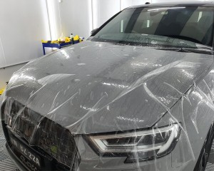 stain-resistant paint protection film for cars