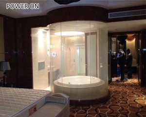 switchable bathroom privacy glass