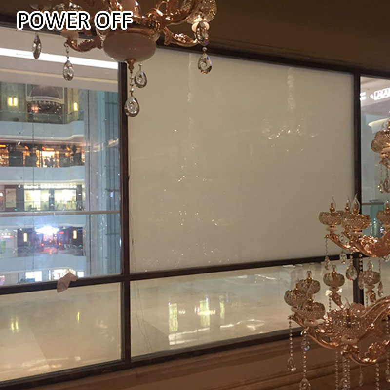 ultrathin self clingy pdlc switchable glass film