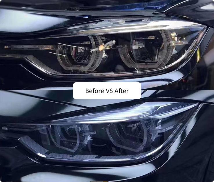 uv 3m headlight protection film
