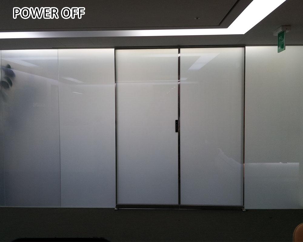 uv proof pdlc smart glass film for window