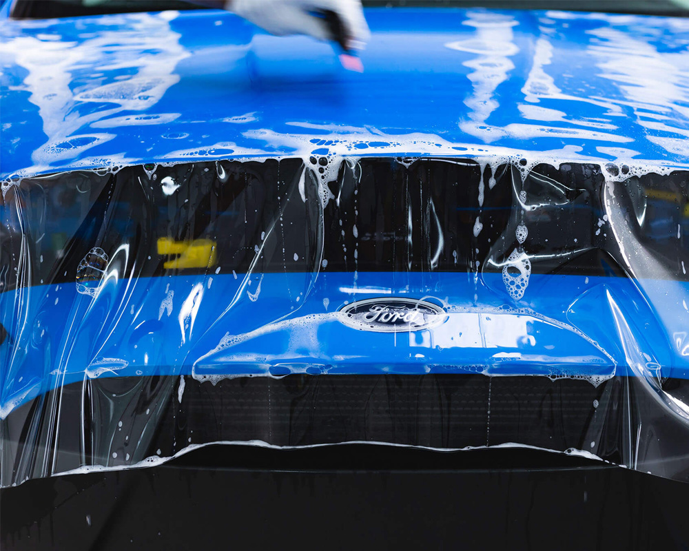 visual invisible clear car paint protection film